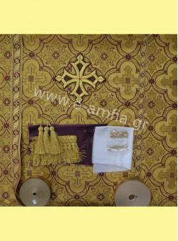Πακέτο Ιερατικής Στολής έτοιμη για ράψιμο.