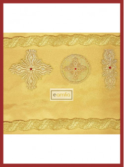 Σετ Γαλόνια-Σταυροί Αρχιερατικής Στολής