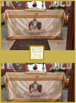 Καλύμματα Αγίας Τραπέζης (κέντημα)